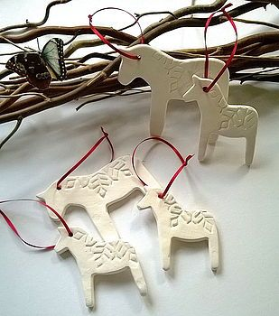 Dala Horse Scandinavian Decorations