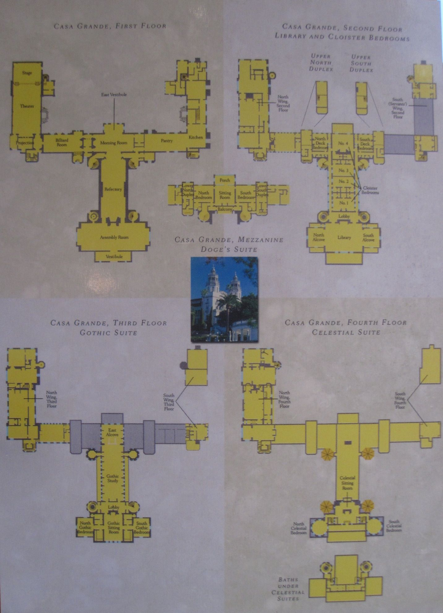 hearst castle | Mansions » Floor Plans to Hearst Castle | Just ...