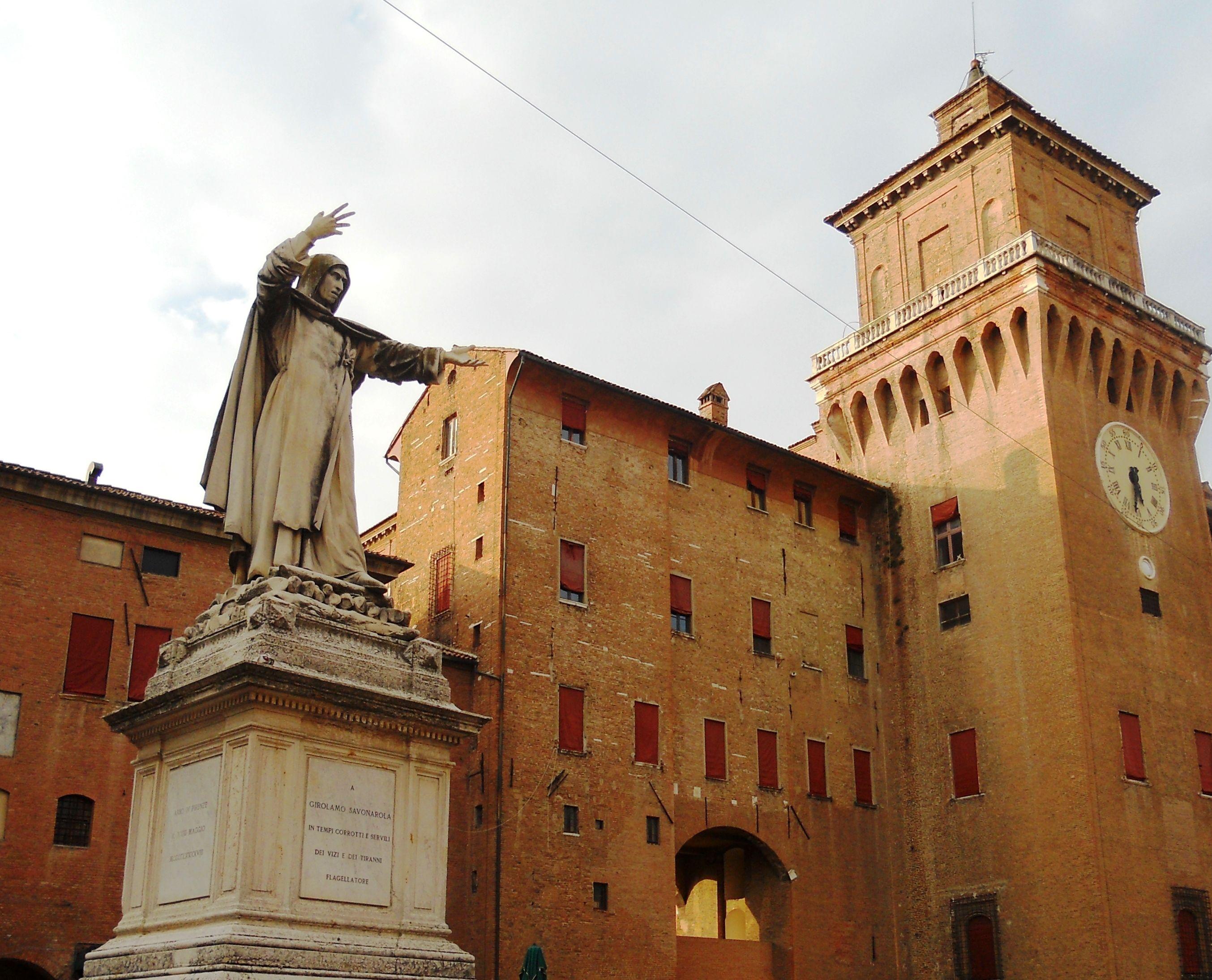Ferrara: cultura e arte…nel pallone!