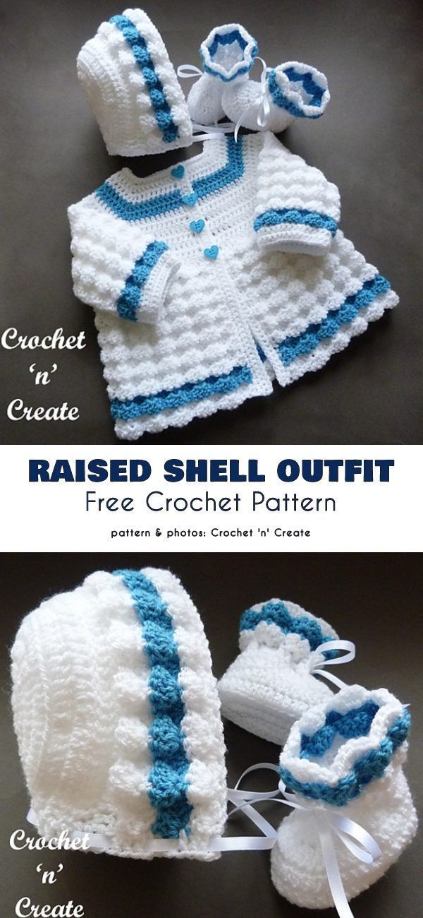 Photo of Baby Outfit Free Crochet Patterns