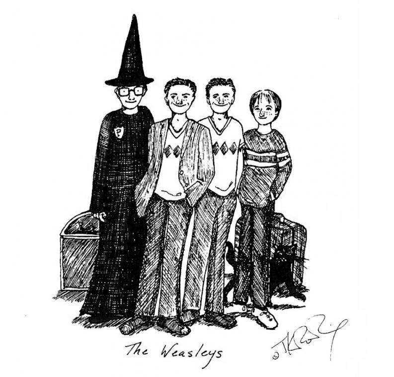 Estas Ilustraciones De J K Rowling Sobre Harry Potter Son Espectaculares Las Conocias Harry Potter Ilustraciones Dibujos De Harry Potter Ilustraciones