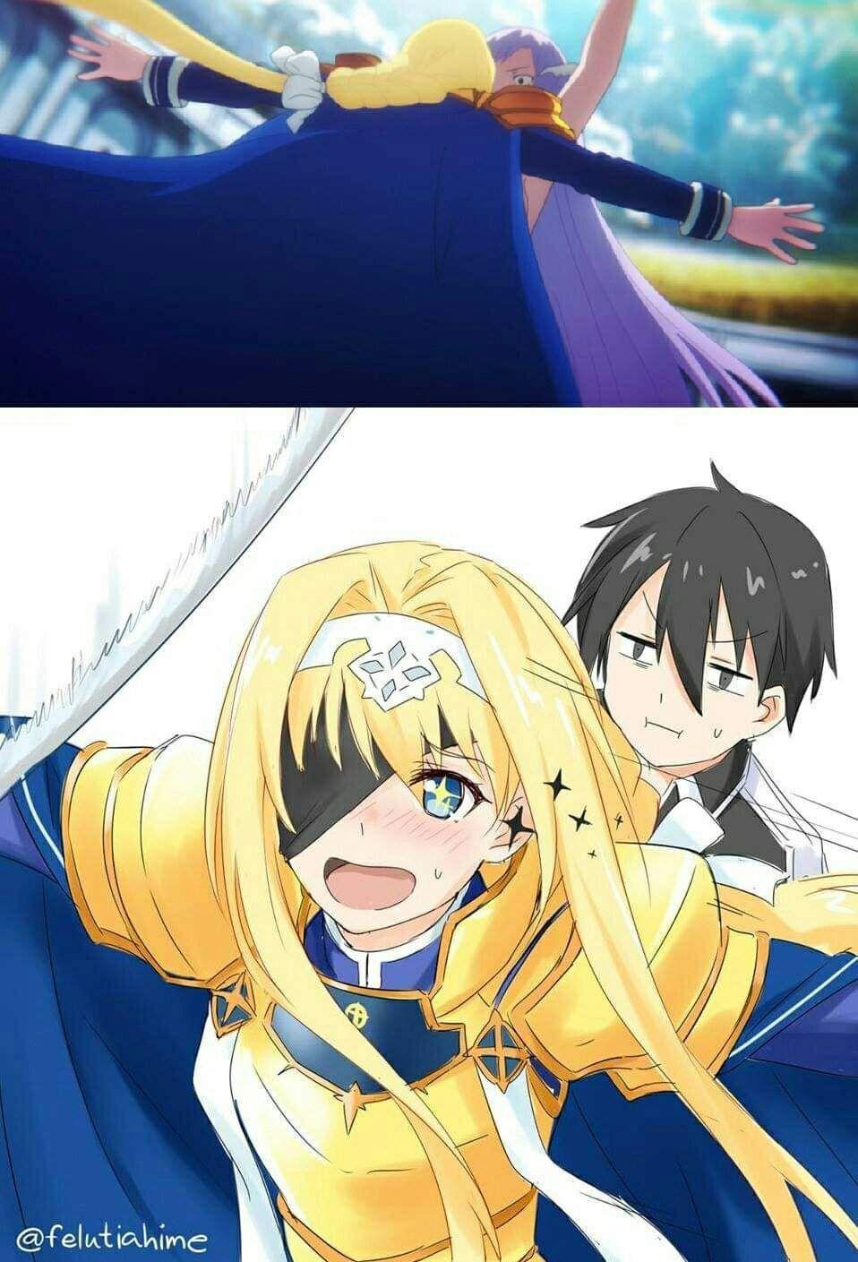 フェルティア姫 on Twitter in 2020 Sword art online meme, Sword