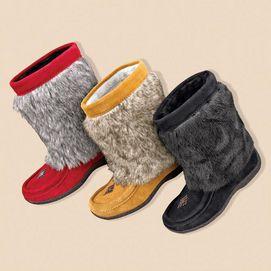 Barbo Women's 'Nikita' Faux-Fur Suede Boot - on sale @ sears!