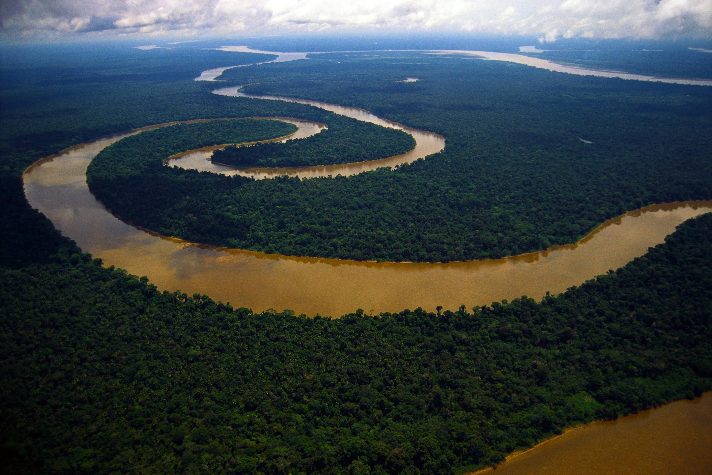 Meandering Tigre River Peruvian Amazon 2784x1857 Amazon River