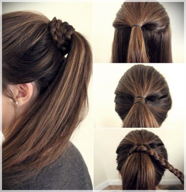 Simple Diy Hairstyles Everyday: DIY: Fast And Easy Hairstyles