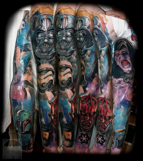 star wars sleeve tattoo full sleeve tattoo designs pinterest tattoo star and star wars tattoo. Black Bedroom Furniture Sets. Home Design Ideas