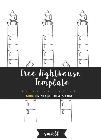 Free lighthouse template small size shapes and templates free lighthouse template small size pronofoot35fo Choice Image