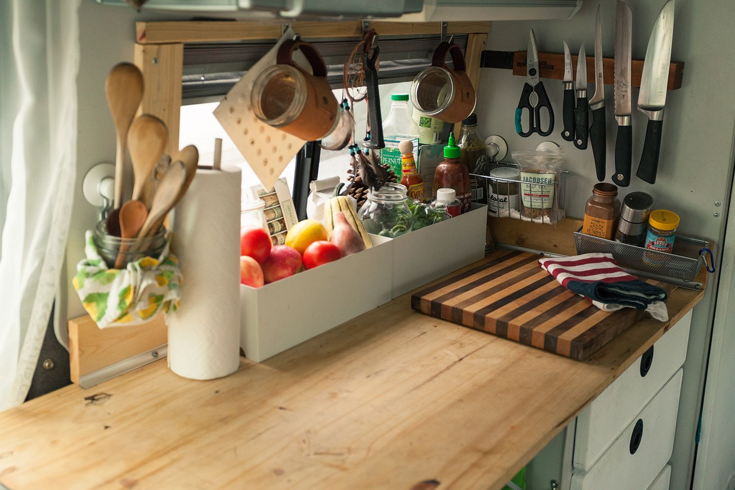 Cooking in Small Spaces | Van life