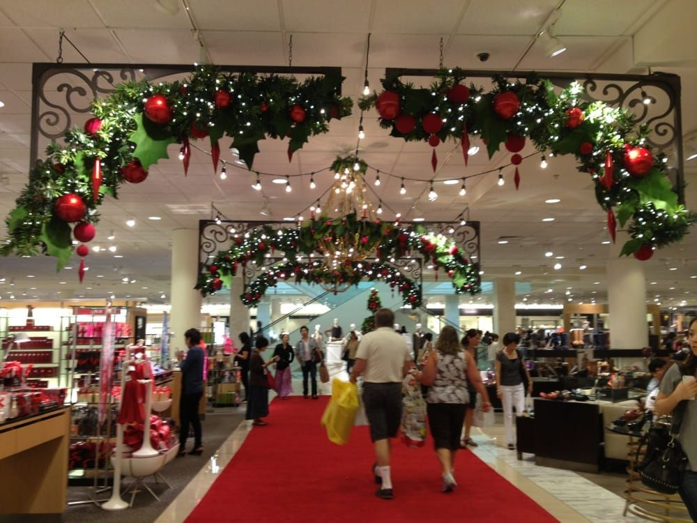 photo of nordstrom honolulu hi united states holiday decorations are up