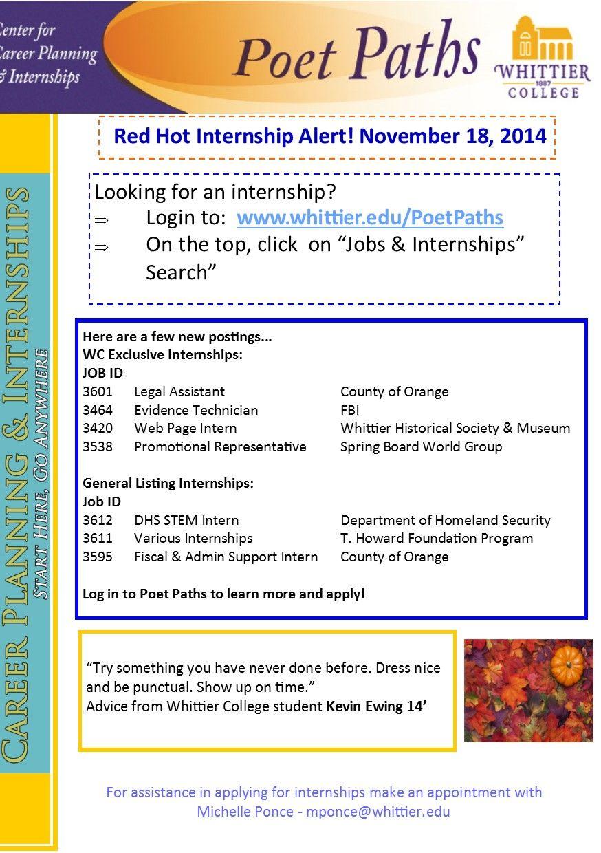 Pin on Red Hot Internships