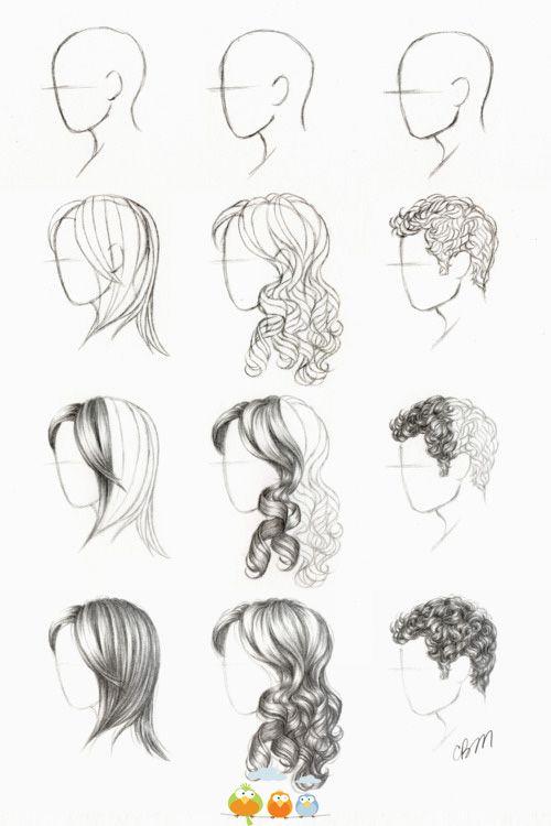 Haare Zeichnen Haare Zeichnen Zeichnungen Von Haaren Und