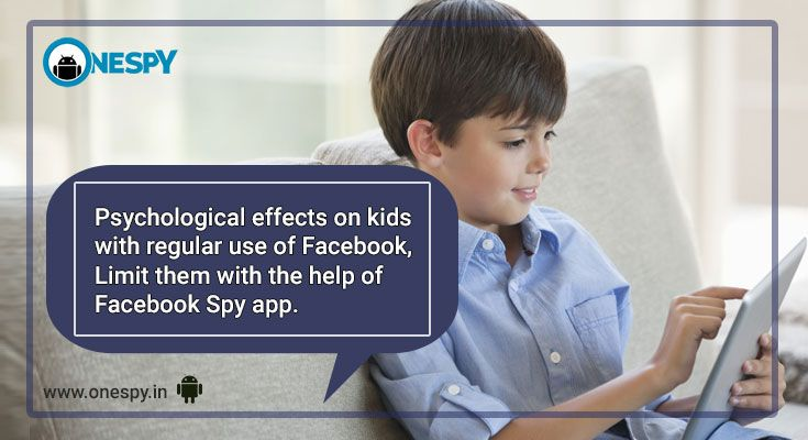 Facebook spy app allows you to protect your child from