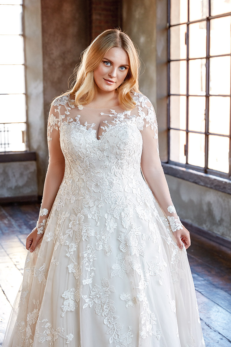 23++ Plus size wedding dresses with color ideas ideas