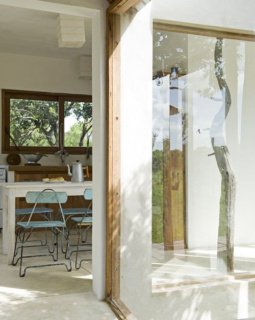 an eco friendly country house in uruguay by the style files