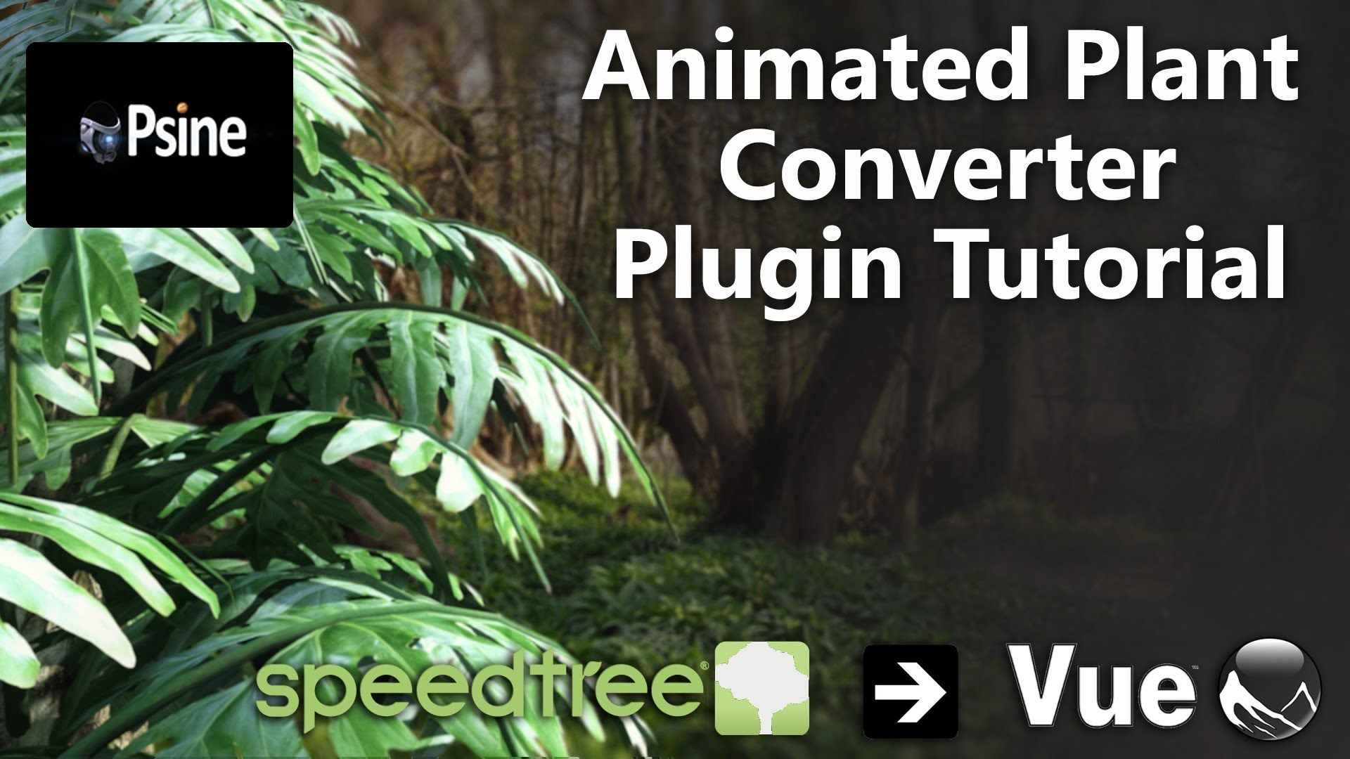 SpeedTree to Vue Plugin Tutorial | 3D Tutorial | 3ds max