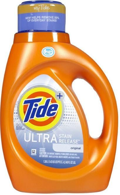 Tide 87586 Ultra Stain Release Laundry Detergent 46 Oz Laundry