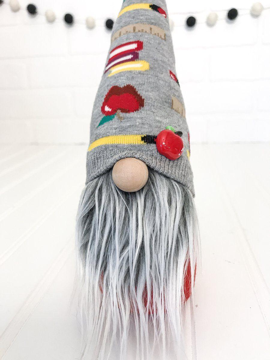 DIY Teacher Gnome Making Kit SEW AT HOME Gnomes