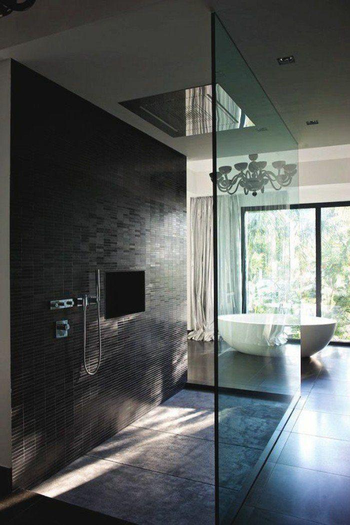 La salle de bain avec douche italienne 53 photos! | Salle de bain ...