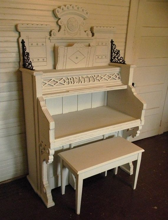 Antique Pump Organ Repurposed Organ Desk 1908 By