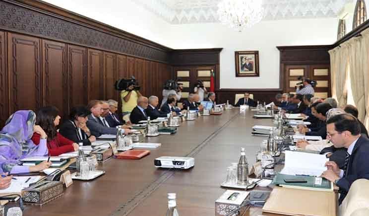 رئيس الحكومة الزيارة الحكومية للجهات تجسيد لسياسة القرب ودعم للجهوية المتقدمة Home Decor Conference Room Home