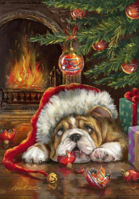 Cavalier King Charles Christmas Cards