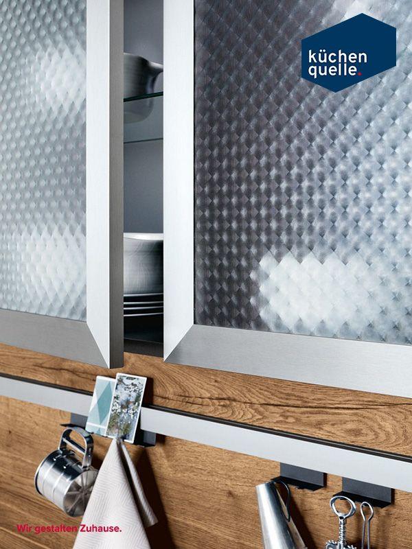 Die Hochschränke der Systema 1070/1097 bieten viel Stauraum für - www küchen quelle de