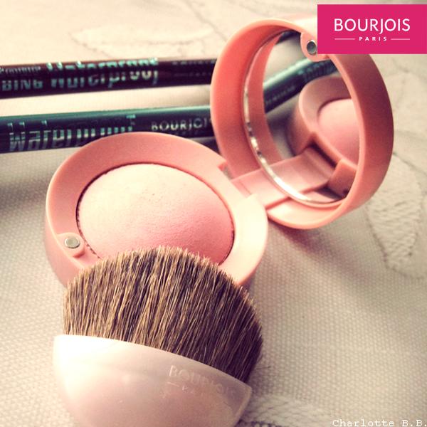 """O blush rosado proporciona aquele """"ar de saúde"""" quando aplicado nas maçãs do rosto e no contorno da face. Aposte no Rose Ambré da #Bourjois! #make"""