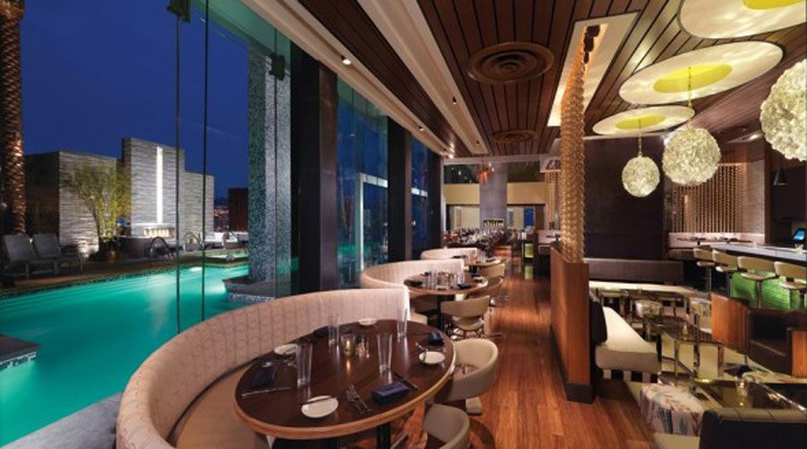 Modern Hospitality Interior Design Of Simon Restaurant And Lounge Las Vegas Furnitures