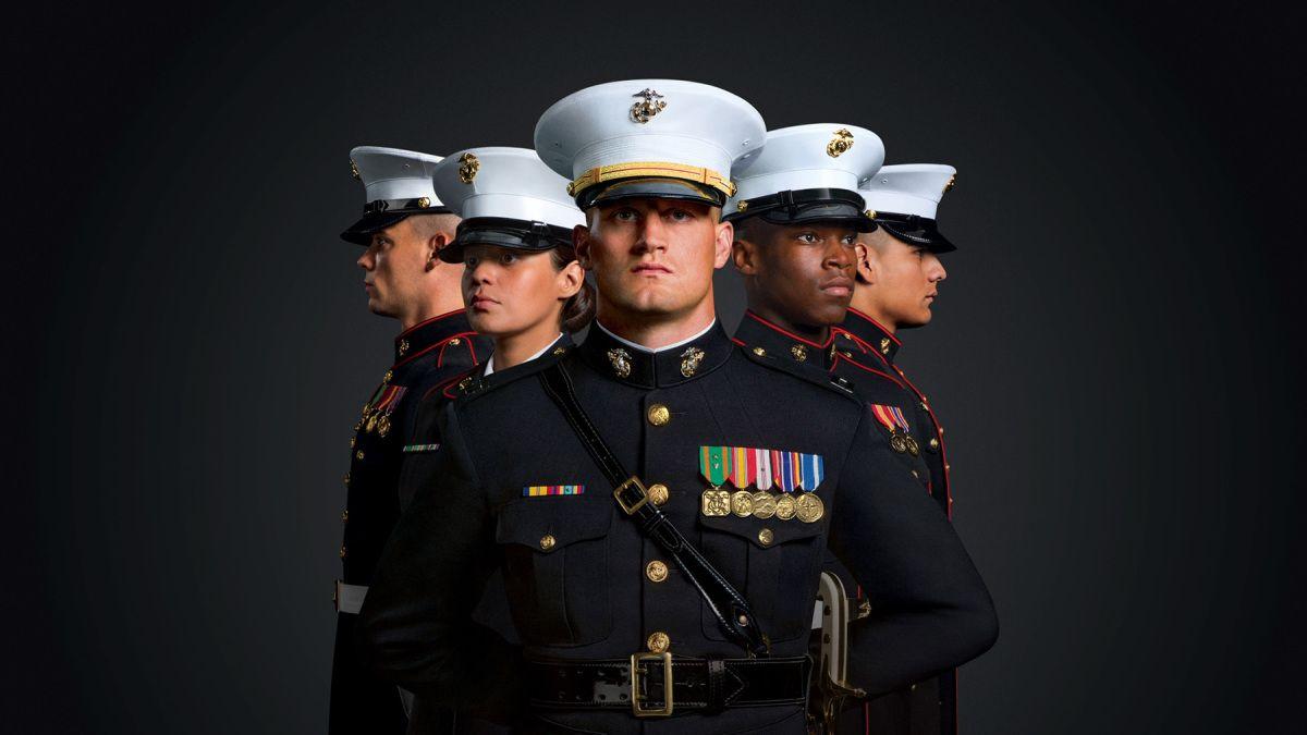 Woman Refusing To Serve A Customer Wearing A Marine Shirt Musicdramatv Us Marines Uniform Marine Corps Us Marine Corps [ 675 x 1200 Pixel ]
