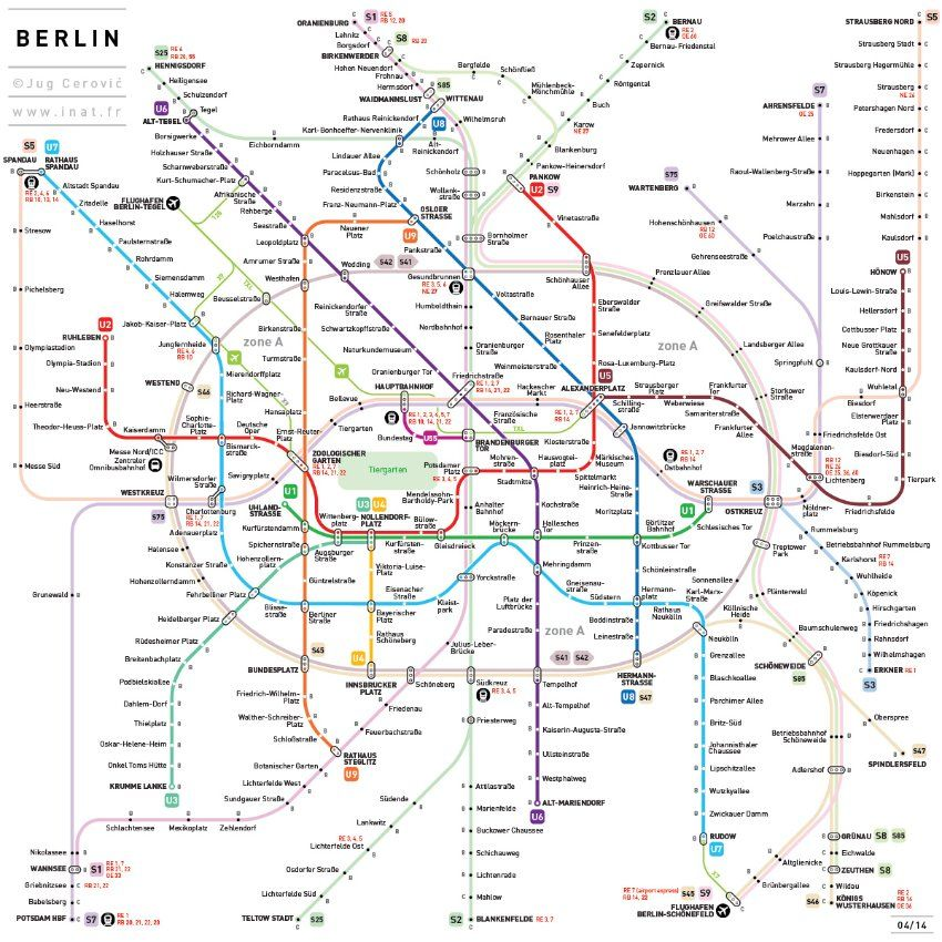 french serbian architect jug cerovic has standardized international subway maps with inat a guideline developed to unify the global metro network with easy