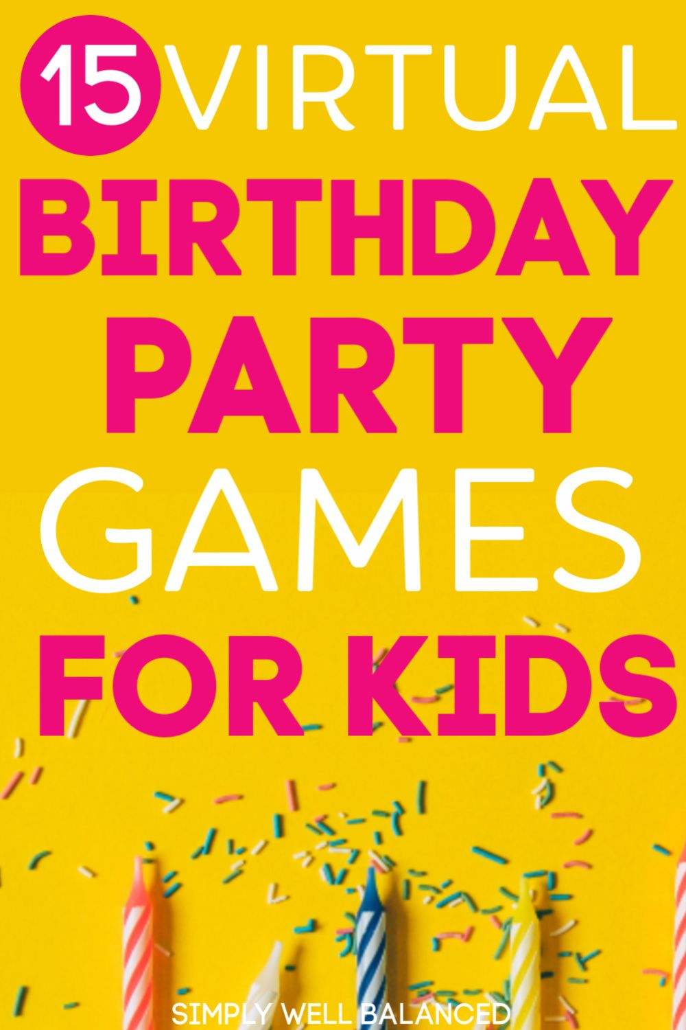 15 Fun Games for Kids to Play with Friends on Video Chat in 2020 | Birthday  party games for kids, Kids party games, Birthday games for kids