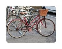 Bikes of Hackney placemat set -Great for Londoners, bike mad people and lovers of photography.