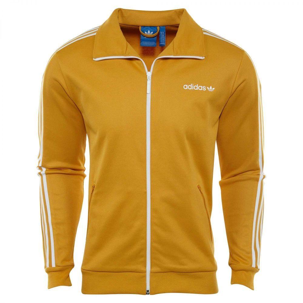 Adidas Originals Beckenbauer Track Top Mens Br6951 Tactile Yellow