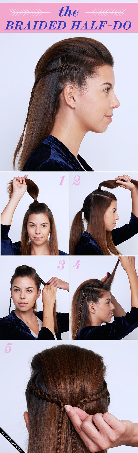 17 Easy DIY Tutorials For Glamorous and Cute Hairstyle  40 Easy Hair Tutorials (For long and short hair)   15 Cute, Easy Hairstyle Tutorials For Medium-Length Hair  affiliate link