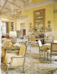 Country French Charles Faudree On Pinterest  French Country Unique French Living Rooms Design Ideas