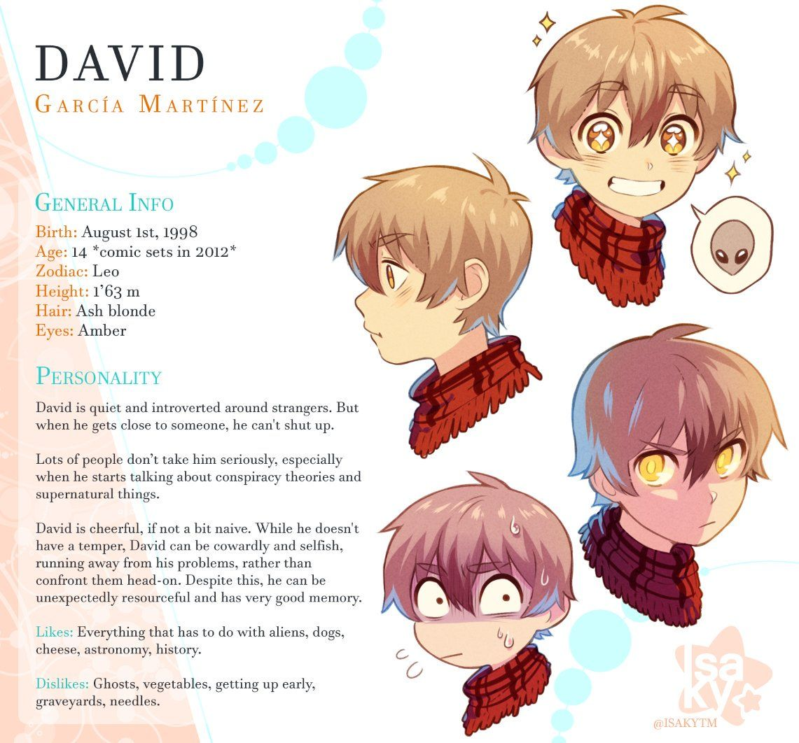 Information About David On Lalin S Curse Webtoon