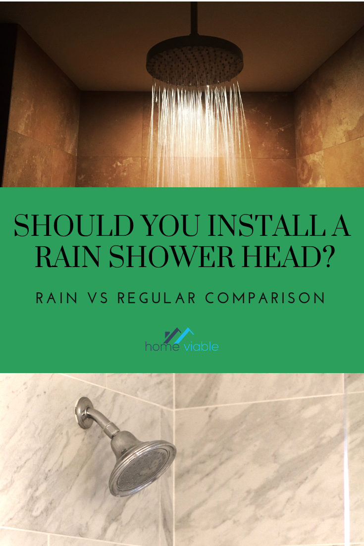 Rain Shower Head Vs Regular Shower Head How To Pick With Images
