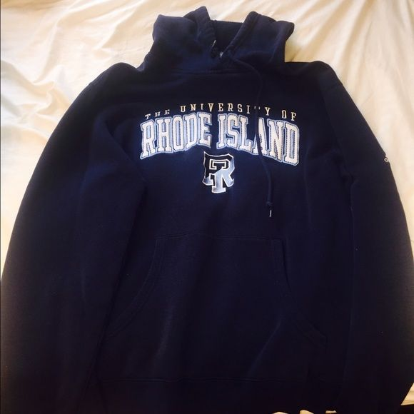 University Of Rhode Island Hoodie University Of Rhode Island Hoodies Adidas Tops