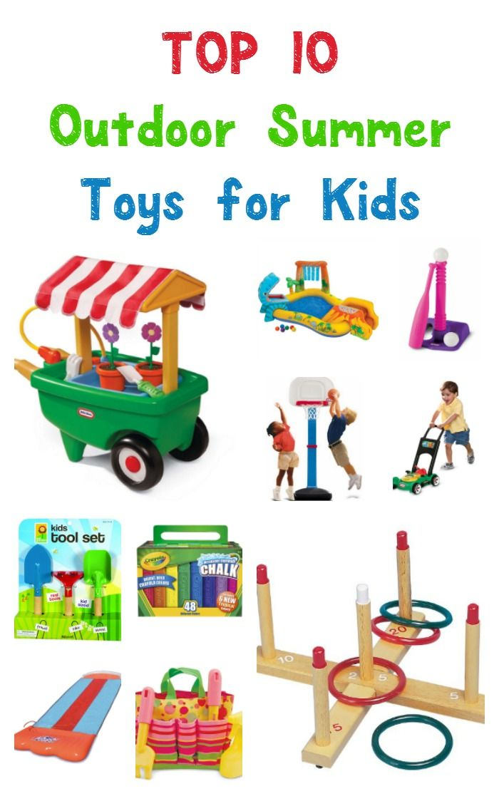 Encourage Active Play with Amazon's Top 10 Outdoor Toys ...