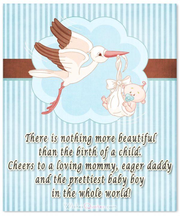 baby boy congratulation messages
