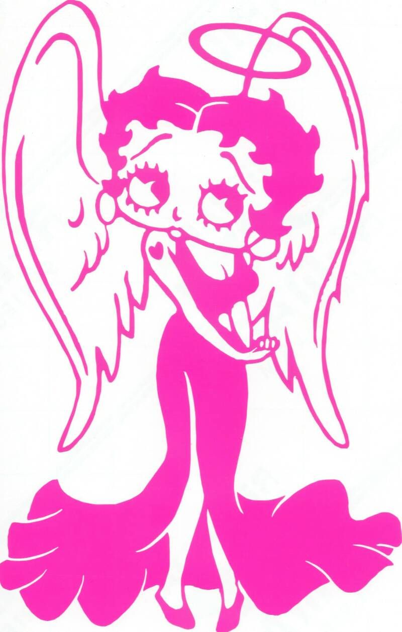 Betty Boop as an Angel | us gold coin fito paez | betty pics ...