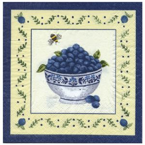 Blueberry Basket, sells blueberry gifts, Blueberry Basket design spiced filled Hot Pads by Alice's Cottage Made in USA...& Maine Balsam fill...