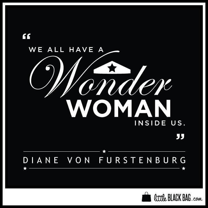 Wonder Woman Fitness Quotes: We Are All Wonder Women.