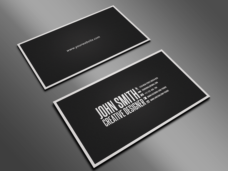 clean business card примеры pinterest simple business cards