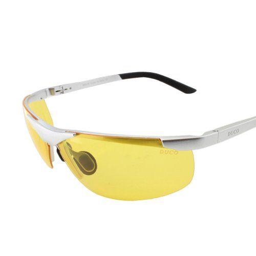 7d36cc80d9b9 Duco Night-vision Glasses Anti-glare Driving Eyewear Aluminum-magnesium Polarized  Glasses 6806