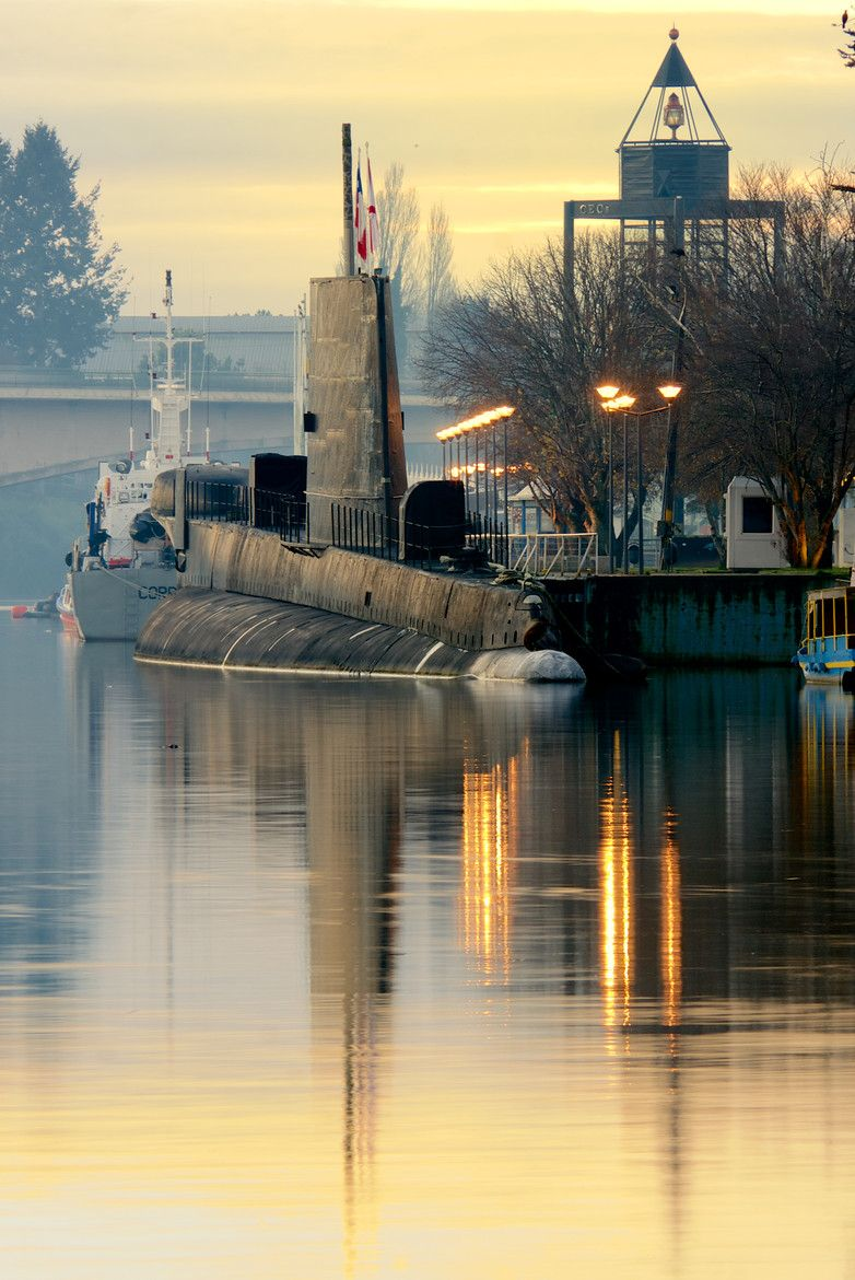 Photograph Submarine by Charles Brooks on 500px The old submarine, Valdivia. Chile