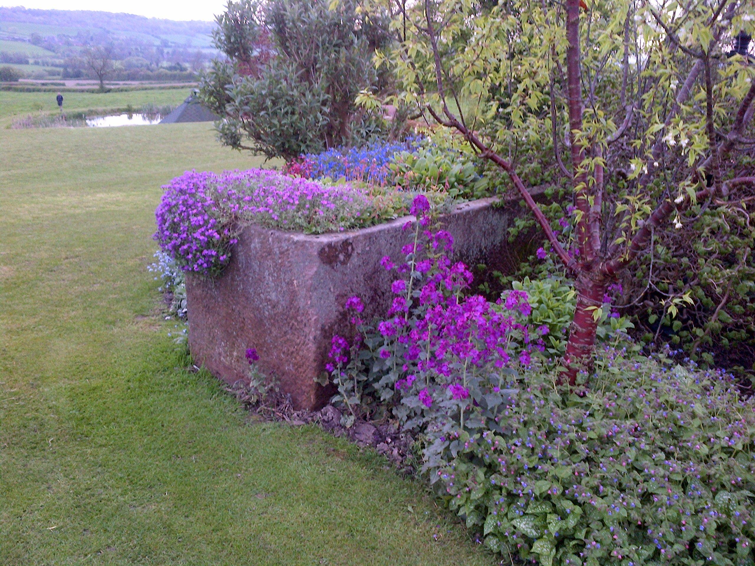 Charity open gardens near Ashbourne, Derbyshire open