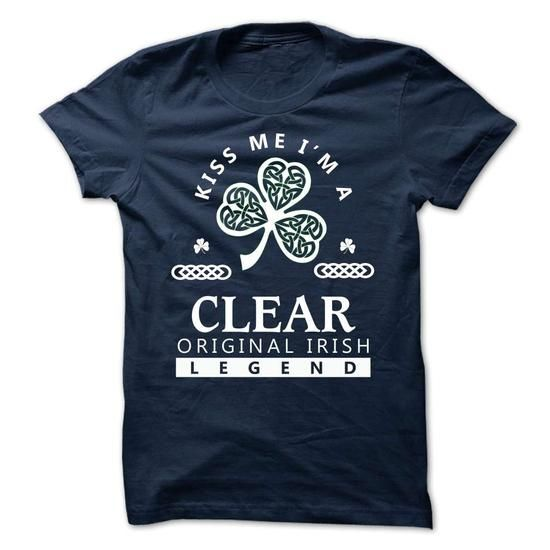 CLEAR - KISS ME IM Team - #gift ideas #gift packaging. ADD TO CART => https://www.sunfrog.com/Valentines/-CLEAR--KISS-ME-IM-Team.html?68278