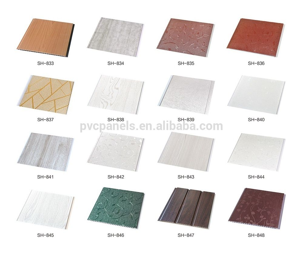 building material pvc wallpaper tile pvc laminated panel malaysia