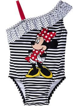 ab6a5666b797a Disney© Minnie Mouse Swimsuits for Baby | Old Navy. This reminds me of  something my mom would have dressed me in!